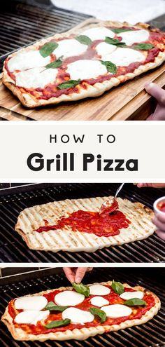 Best Grilled Pizza HOW TO GRILL PIZZA. The only recipe you'll ever need, learning how to grill the perfect pizza for summer parties!HOW TO GRILL PIZZA. The only recipe you'll ever need, learning how to grill the perfect pizza for summer parties! Comida Pizza, Grilled Pizza Recipes, Pizza Grilled Cheeses, Cooking Recipes, Healthy Recipes, Pastry Recipes, Easy Grill Recipes, Recipes For The Grill, Weber Grill Recipes