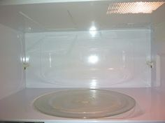 Pinterest- One Pin At A Time Project Update! Clean Microwave in minutes!