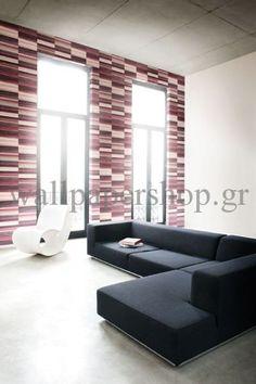Wallpapers :: Modern :: Mankai :: Mankai Zen Carmine Red No 7823 - WallpaperShop