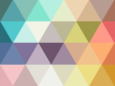 Ideas For Geometric Art Prints Triangles Patterns Geometric Patterns, Geometric Art, Textures Patterns, Fabric Patterns, Color Patterns, Triangles, Pattern Art, Pattern Design, Polygon Pattern