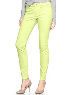 Gap 1969 Skimmer Legging Jeans. Gap jeans usually fit me funny but I want to try these.