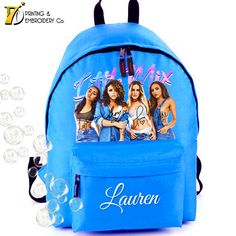 Little Mix Water Colour -  Personalised School Backpack
