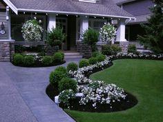Fabulous front yard walkway landscaping ideas (44)