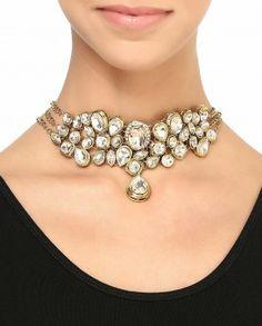 Golden Multi-Chain Necklace
