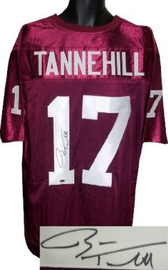 b131f8241 RDB Holdings   Consulting Ryan Tannehill Signed Maroon Custom Stitched  Football Jersey- Tannehill Hologram