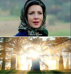 """""""I have to go back"""" Outlander Season 2 Finale"""