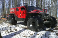 Ghe-o Motors Rescue SUV- Romania Extra Large SUV -  17 feet long and nearly nine feet wide