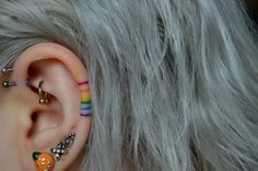 Fantastic Free Cartilage Piercings aesthetic Popular While a typical piercing i. - Fantastic Free Cartilage Piercings aesthetic Popular While a typical piercing isn't really plent - Form Tattoo, Mädchen Tattoo, Tattoo Trend, Shape Tattoo, Rain Tattoo, Tebori Tattoo, In Ear Tattoo, Yakuza Tattoo, Chakra Tattoo