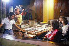 23rd Oct. '80 Queen are back in the music studios in Los Angeles, to finished #FlashGordon. http://www.queenonline.com
