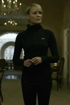 claire underwood workout clothes