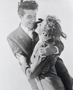 Ray Milland & Claudette Colbert