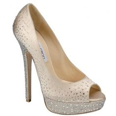 Jimmy Choo Sugar Swarovski Crystals Platform Peep Toe Pump, I spotted these gorgeous Bridal shoes from the Jimmy Choo Cruise Collection 2012 and just had to share with my readers.