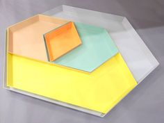 Kaleido trays by HAY. Designed by clara von zweigbergk