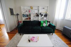 New Digs — thoughtfulwish Ikea Billy, Staying Organized, Home Goods, Layout, Couch, Living Room, Future, Home Decor, Homemade Home Decor