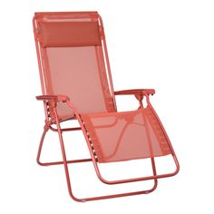 Lafuma Recliner R Clip Aurore, Colorblock Seat Clips Into Frame Of Chair.  UV Protected, Lafuma R Clip Recliners