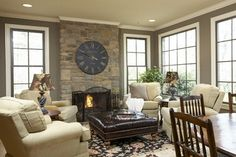 Traditional Family Room Decorating Ideas | Family Room Design Inspiration, Pictures, Remodels and Decor