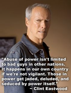 Prominente Zitate: Clint Eastwood Zitat … Quotes and inspiration from Celebrity QUOTATION – Image : As the quote says – Description Clint Eastwood quote Sharing is everything – We, at Quotes Daily, we think that sharing is everything, so don't forget to s Political Quotes, Political Views, Wisdom Quotes, Me Quotes, Epic Quotes, People Quotes, Famous Quotes, Clint Eastwood Quotes, Scott Eastwood