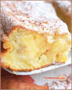 Apples and pears for a sweet cake like a custard! - Apples and pears for a sweet cake like a custard! Easy Cheesecake Recipes, Cheesecake Bites, Pumpkin Cheesecake, Dessert Recipes, Mini Desserts, Easy Desserts, Delicious Desserts, Apple Recipes, Sweet Recipes