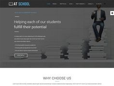AT School Joomla! template by Age Themes on @creativemarket