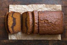 Pumpkin Brownie Loaf