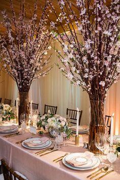 Napa Valley Wedding with Cherry Blossoms - MODwedding
