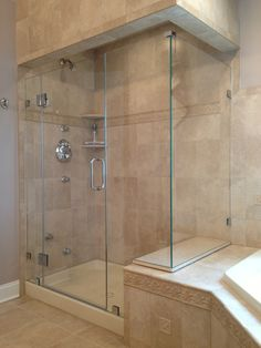 Frameless shower enclosure l shape with high knee walls clip mount everybody loves showerman new jerseys top manufacturer of custom shower frameless shower doors because of their expertise friendliness and high quality planetlyrics Images