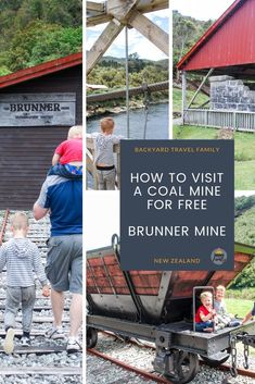 One of the best free things to do on the West Coast is to visit the Brunner Mine Site. Just out of Greymouth, kids can enjoy looking inside an old coal cart Coal Mining, Free Things To Do, South Island, West Coast, Family Travel, Awesome, Amazing, New Zealand, Exploring