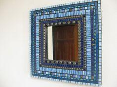 Mirror - very pretty mosaic tiling