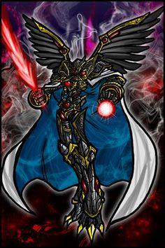 MEGA level Digimon, Alphamon.