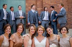 nonmatching bridemaids dresses | Outdoor family portrait sessions in the Fall are super popular - no ...