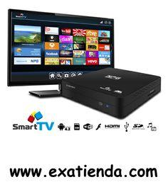 Ya disponible Smartv NPG android smarc box s 901am    (por sólo 102.99 € IVA incluído):   - Convierte tu televisor en una Smart TV y disfruta desde el primer momento de televisión a la carta, juegos, noticias, redes sociales, navegación por internet... Todo el universo Android en tu TV con una interfaz sencilla y adaptada para cualquier tipo de usuario. Con la Smart TV de NPG, podrás elegir lo que quieras cuando quieras, porque ahora más que nunca, tú tienes el mando