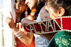 Fun at Punjabi Weddings Wedding Props, Sikh Wedding, Indian Wedding Decorations, Punjabi Wedding, Cute Wedding Ideas, Indian Weddings, Wedding Inspiration, Bride Entry, Indian Marriage