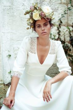 Lace lace lace! Beautiful 2015 collection of wedding dresses by French designer Elise Hameau