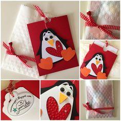 annie scrappt - rund ums Papier und noch viel mehr: Ein kleiner Pinguin geht auf die Reise