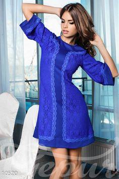 Платье-трапеция (10520) - купить оптом в интернет-магазине женской одежды gepur.com.ua
