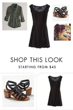 """Untitled #5233"" by abigailloveschocolate ❤ liked on Polyvore featuring American Eagle Outfitters"