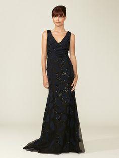 Fully Embellished Silk Gown by Carolina Herrera on Gilt.com