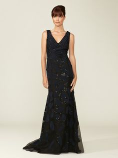 Fully Embellished Silk Gown by Carolina Herrera on Gilt.com