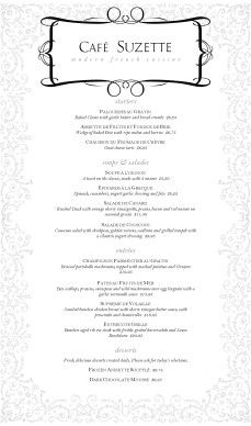 13 best french menus images on pinterest restaurant menu design