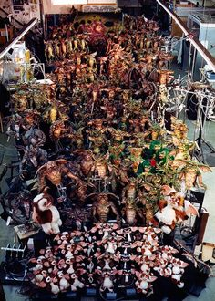 Rick Baker @TheRickBaker:  Most of the stuff that we made for #Gremlins2  That was a big and fun job and I had a great crew.