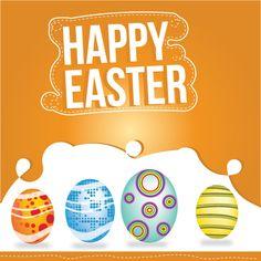 Happy Easter Free Vector - http://www.dreamstock.net/happy-easter-free-vector/