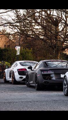 Audi r8 v10 perfections
