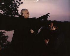Klaus Kinski and Roland Topor. Nosferatu