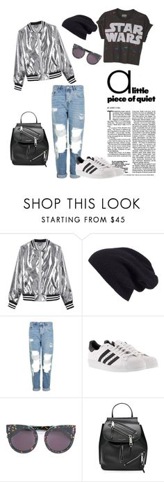 """""""Untitled #47"""" by darklady03 ❤ liked on Polyvore featuring Sans Souci, Halogen, Topshop, adidas, STELLA McCARTNEY and Marc Jacobs"""