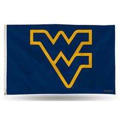 West Virginia Mountaineers NCAA 3in x 5in Banner Flag