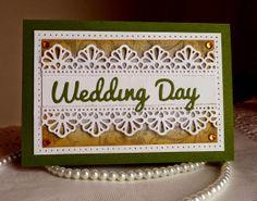 CottageBLOG: Wedding Day card