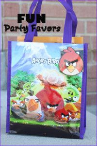 Fun party favors for kids' parties- LOVE these ideas:)