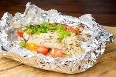 Recept Italiaans vispakketje uit de oven   Foodblog CurlsCulinair Vegetarian Recepies, Healthy Recipes, Love Food, A Food, Healthy Comfort Food, Keto, Fish Dishes, Pasta, Seafood Recipes
