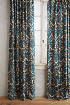 Tiled Crest Curtain - anthropologie.com