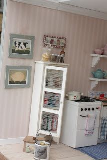 Here comes more pictures of my Liza´s Cottage! This was a project that I started in the beginning of last year and theese pics wa...